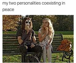 Peace Memes - dopl3r com memes my two personalities coexisting in peace
