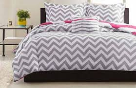 Beautiful Duvet Covers Beautiful Reversible Grey Pink Sporty Chevron Stripe Soft