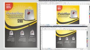 membuat poster dengan corel draw x7 cara membuat desain flyer poster brosur di coreldraw youtube