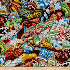 butterfly wings discount designer fabric