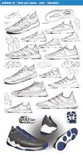 adidas originals project 1 on behance footwear sketching