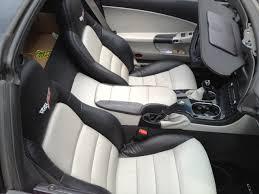 Corvette C6 Interior C6 Corvette 2005 2013 Two Tone Leather Console Cushion Brake Boot