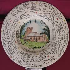 guest book platters 17 best signature plates signing plates for weddings images on