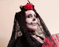 Dia De Los Muertos Costumes Dia De Los Muertos Costume Etsy