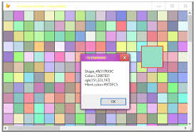 create a simple color picker visual foxpro codes