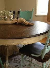 New Dining Room Chairs by Best 25 Oak Dining Table Ideas On Pinterest Round Oak Dining