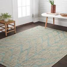 Outdoor Chevron Rug Havenside Home Wilminton Indoor Outdoor Aqua Abstract Chevron Rug