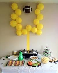 Party Decorating Ideas Best 25 Football Party Decorations Ideas On Pinterest Football