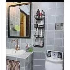 Wrought Iron Bathroom Shelves Bathroom Supplies Storage Rack Storage Rack Wrought Iron Wall