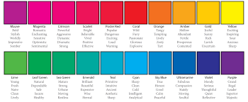 bourges colors psychology color theory pinterest