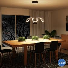 dining room modern chandeliers capella vmc32420bl modern flower pedal led chandelier by vonn