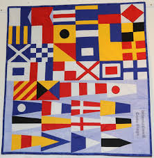 International Code Flags Sutton Town Twinning Quilters