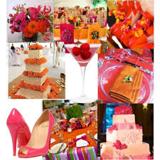 april wedding colors help orange and fuschia theme wedding forum you your wedding