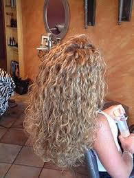 loose spiral perm medium hair freshly permed curls spiral perms perms and hair perms