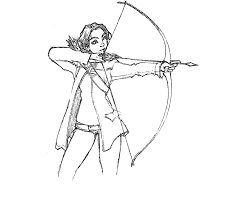 hunger games coloring pages coloring