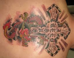 traditional cross tattoo tattoo collections