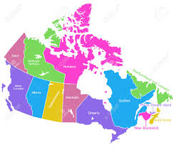Nova Scotia Canada Map by Detailed Vector Map Of Canada Royalty Free Cliparts Vectors And