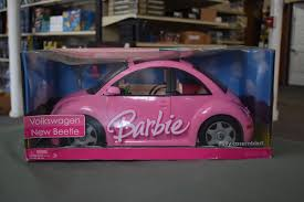 barbie volkswagen 2007 mattel barbie volkswagen new beetle bug pink toy car vehicle