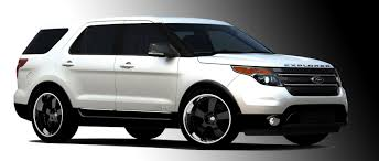 Ford Explorer Upgrades - customized 2011 explorers and other ford models teased ahead of