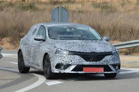 new renault megane spyshots 2016 renault megane shows brand new design and