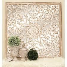carved wood wall wayfair