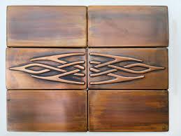 Copper Tiles For Kitchen Backsplash by Metal Tiles My Copper Craft