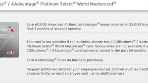 citi business card login expired citi american airlines 60 000 business offer