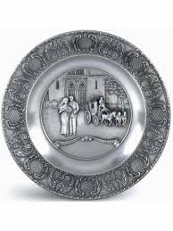 anniversary plates pewter plates german toasting glasses