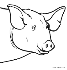 free printable pig coloring pages kids cool2bkids