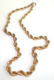 gold filled chain necklace images 12k gold filled graduated rope chain necklace 33 4gr jpg