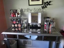Linon Home Decor Vanity Set With Butterfly Bench Black Bedroom Corner Vanity Set Bedroom Makeup Vanity Silver Vanity