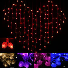 Christmas Lights Ceiling by Discount Heart Shaped Led Lights Ceiling 2017 Heart Shaped Led