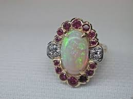 opal and diamond engagement rings antique diamond engagement rings antique vintage retro diamond