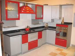 Red Gloss Kitchen Cabinets Kitchen Remarkable Home Manufacturers Kitchen Cabinet With