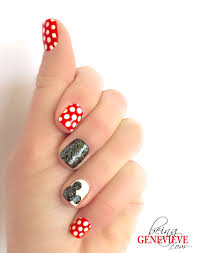 magical mickey mickey silhouette disney nails art and disney nails