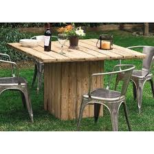 patio table base ideas recycled pallet dining table 15 ideas pallets outdoor tables