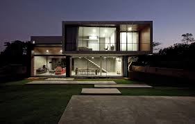 architect contemporary house facades architecture waplag front