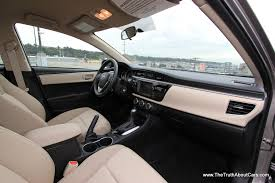 86 Corolla Interior First Drive Review 2014 Toyota Corolla With Video The Truth