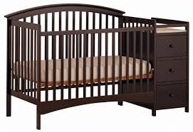 cribs baby crib with changing table stunning convertible crib