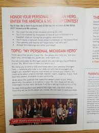Ms  Sharifah Ahmed   My Personal Michigan Hero Essay Contest