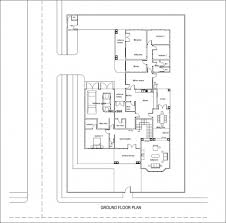 Floor Plan 4 Bedroom Bungalow Awesome 4 Bedroom Bungalow Plan In Nigeria 4 Bedroom Bungalow