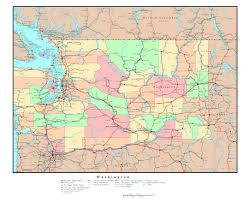map of oregon detailed maps of washington state collection of detailed maps of