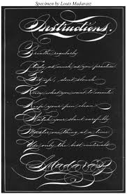 lessons in ornamental penmanship part 5 iampeth site