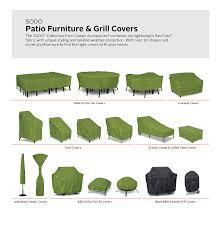 Custom Made Patio Furniture Covers - amazon com classic accessories sodo patio outdoor table u0026 chair