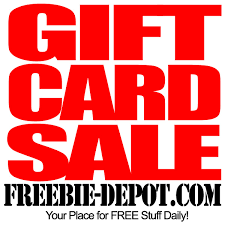 gift card sale freebie depot