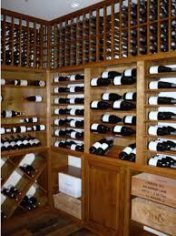 knotty alder custom wine racks santa barbara california