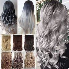 grey hair extensions grey hair extensions ebay