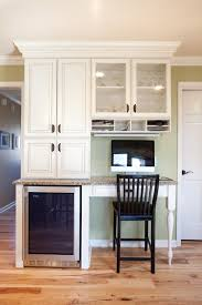 desk in kitchen ideas the most of in home storage indy