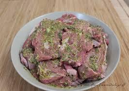cuisiner paleron paleron de veau grillé mariné gingembre yuzu moutarde et sauge