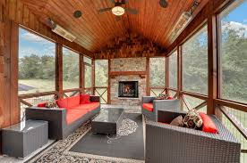Ceiling Fans With Heaters by Electric Stove Heater Porch Traditional With 3 Season Porch